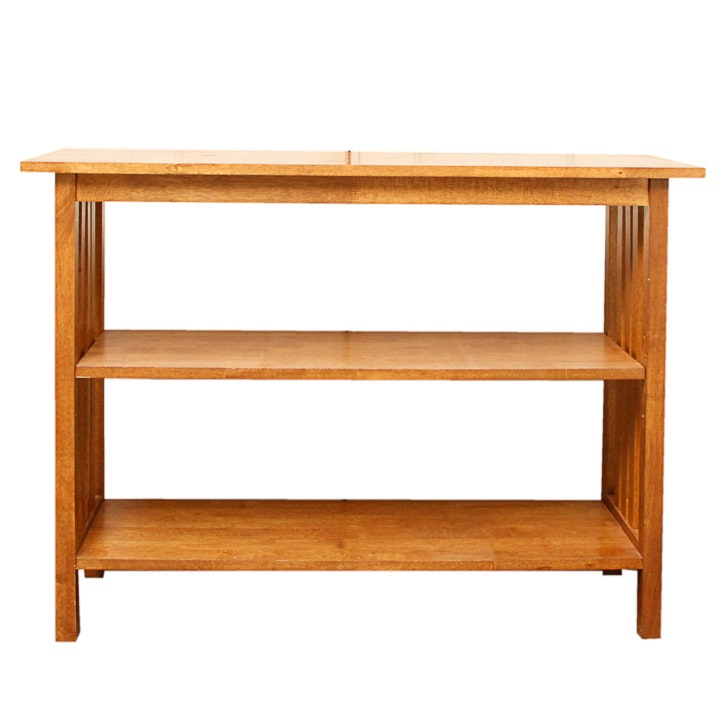 Mission Style Console Table ...