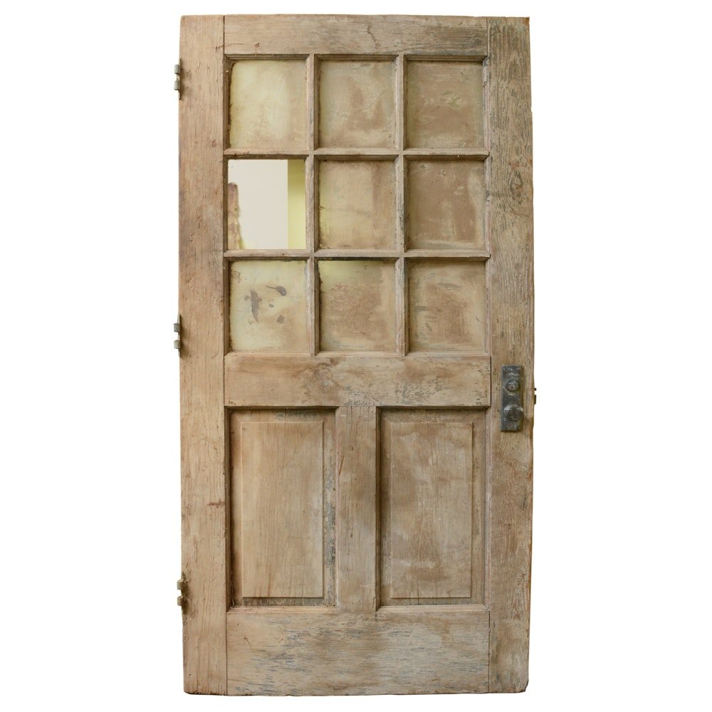 Massive Rustic Wooden Barn Door