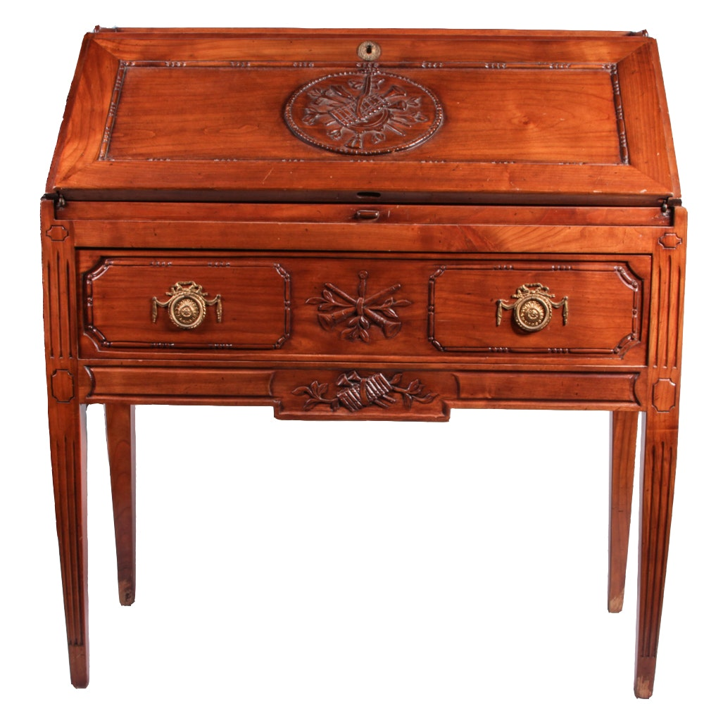 20th Century Louis XVI Style Secretary Desk