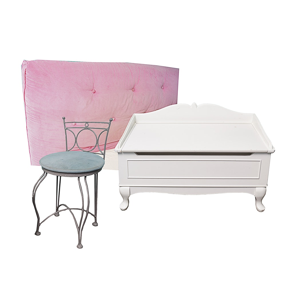 Girls Bed and Accessories