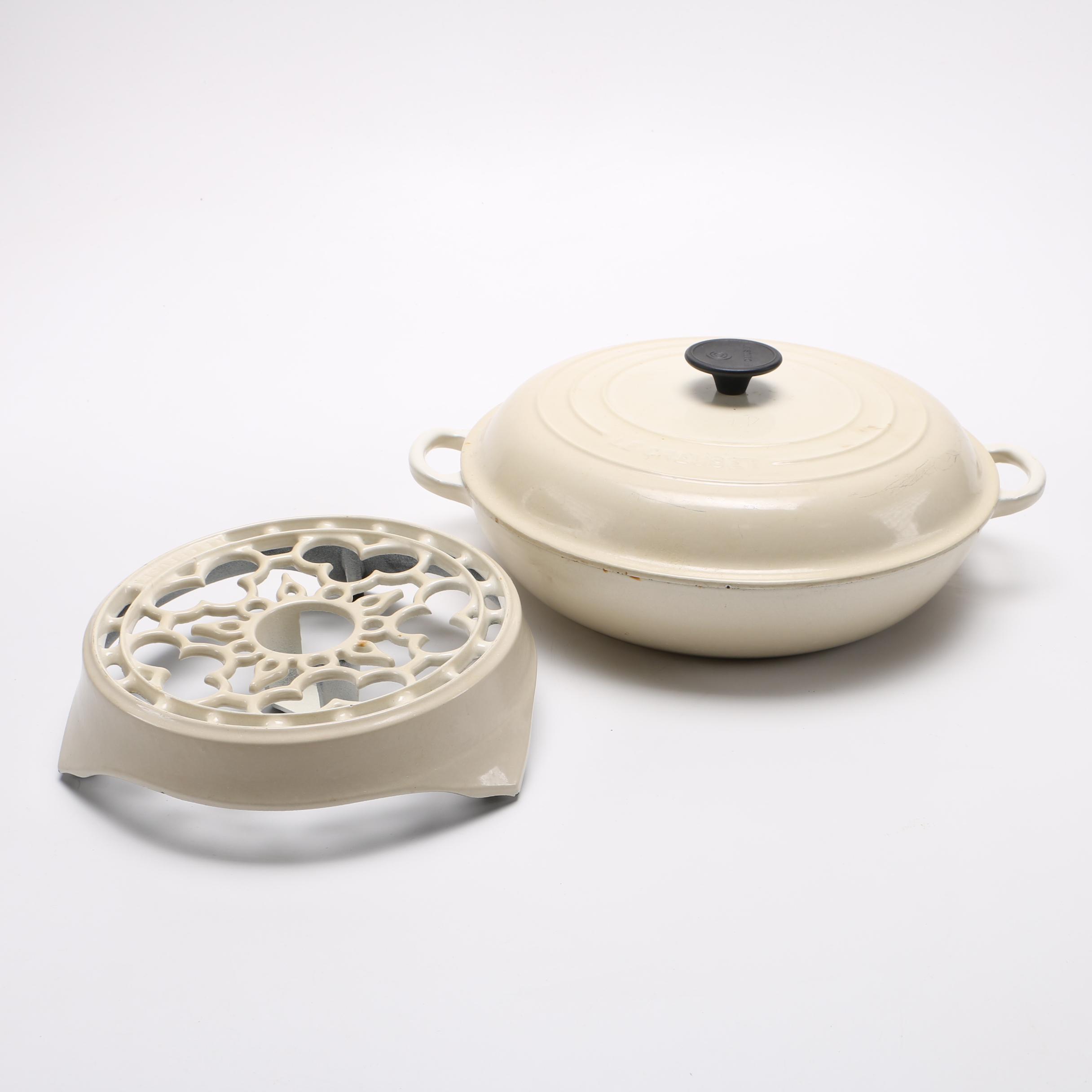 Le Creuset Glazed Cast Iron Cookware