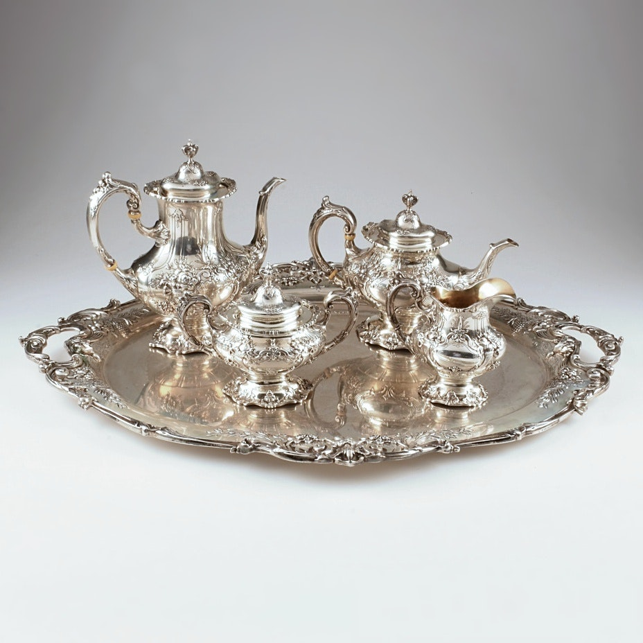 """""""Francis I"""" Sterling Silver Tea Service by Reed and Barton"""
