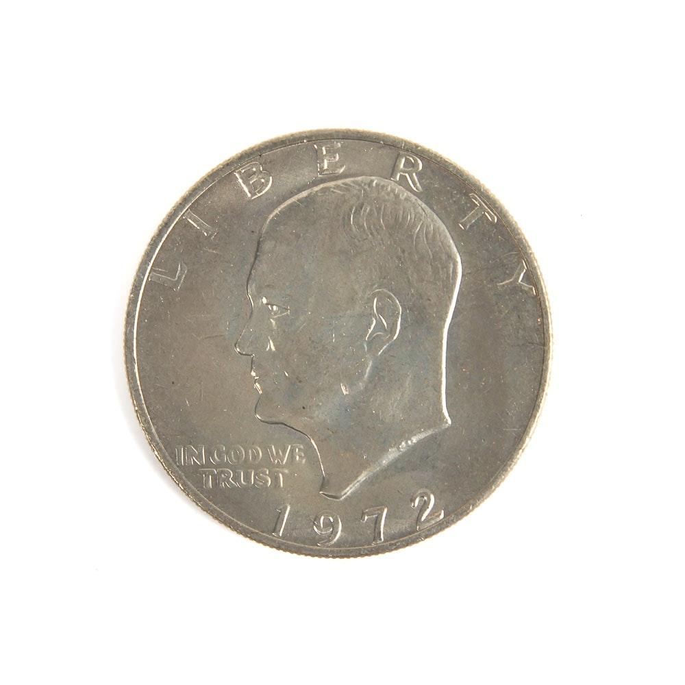 1972 Eisenhower One Dollar Coin