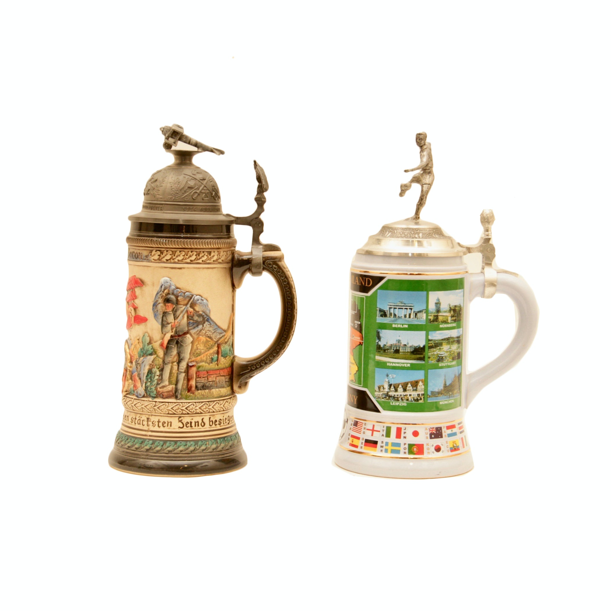 The Red Baron Limited Edition Beer Stein and One More