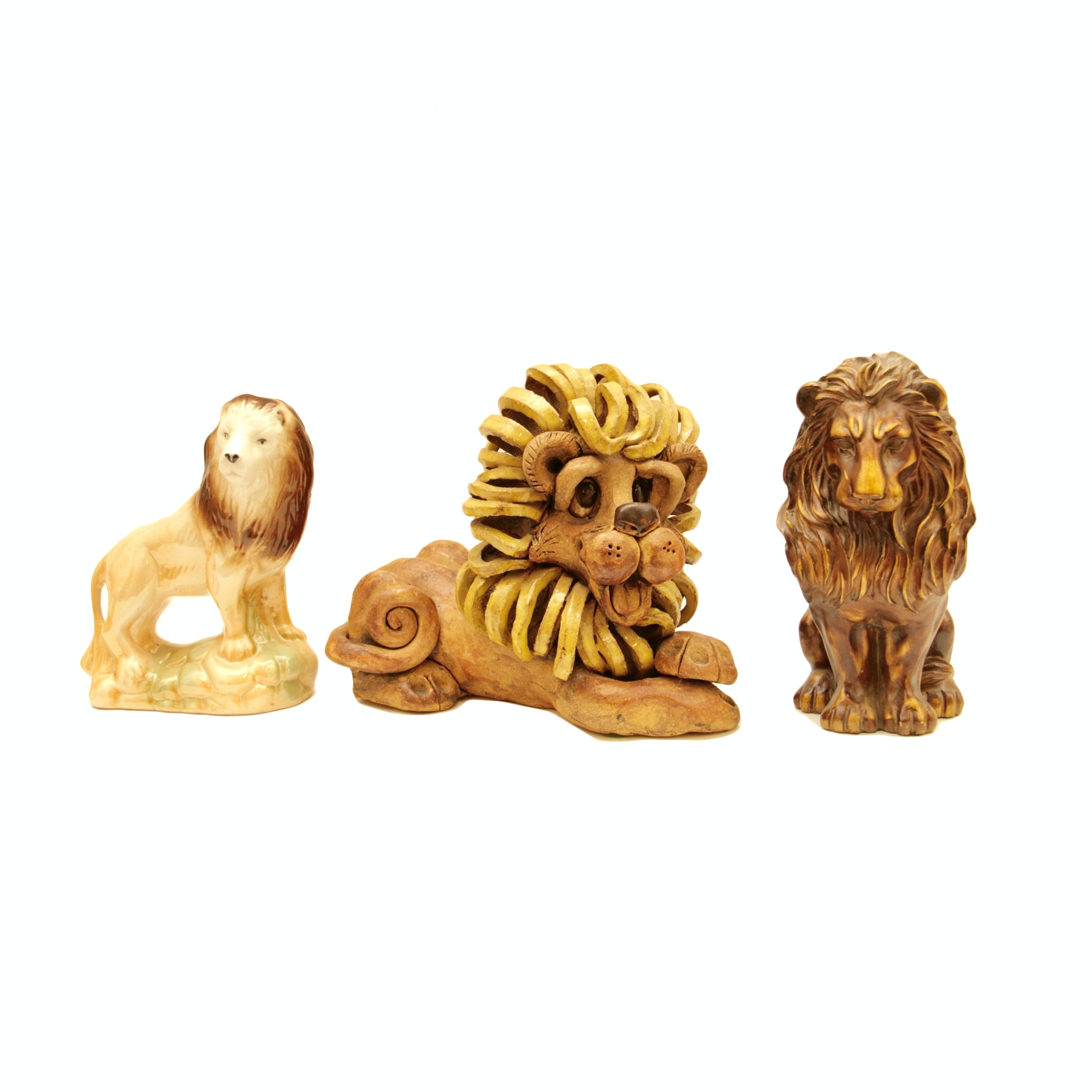 Collection of Decorative Lions