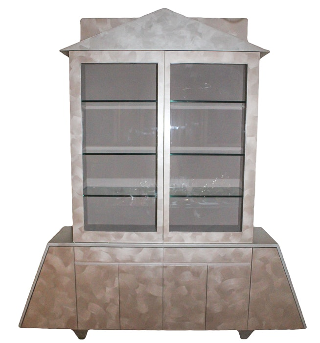 Abstract Modern Curio Cabinet