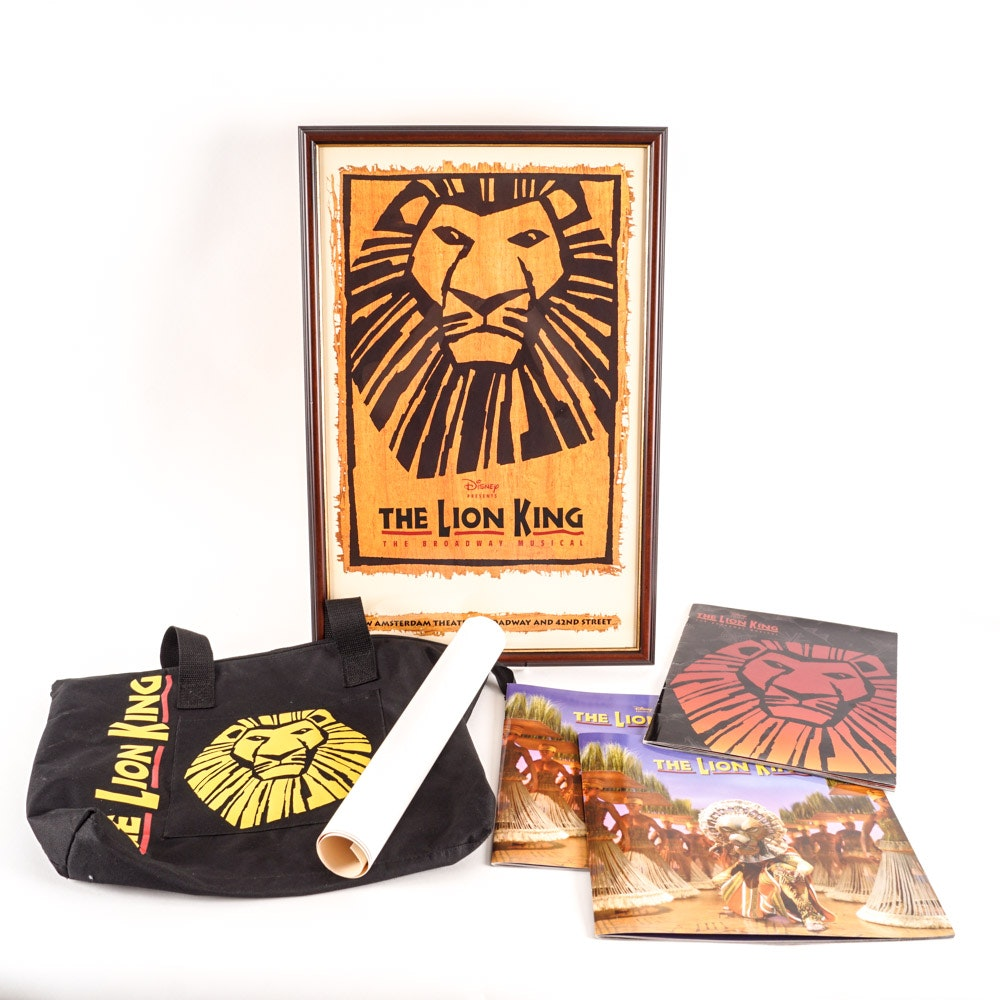 """The Lion King"" Broadway Musical Memorabilia"