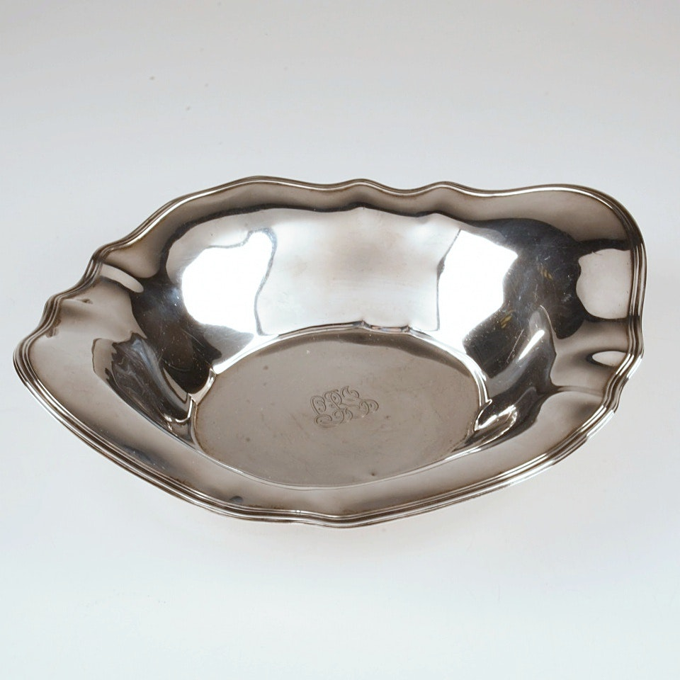 Antique Tiffany & Co. Sterling Silver Serving Bowl