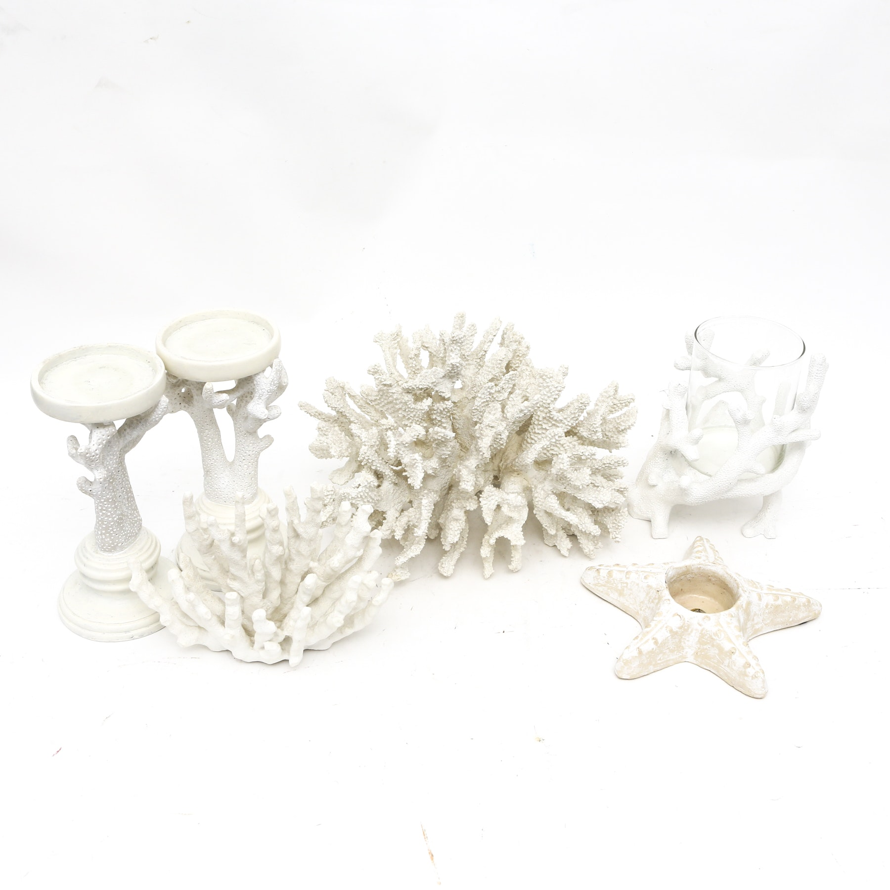 Nautical Candleholders and Decor