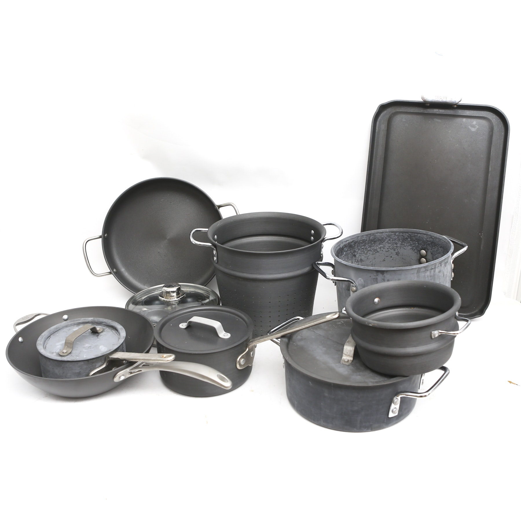 Commercial, Calphalon and All Clad Aluminum Cookware