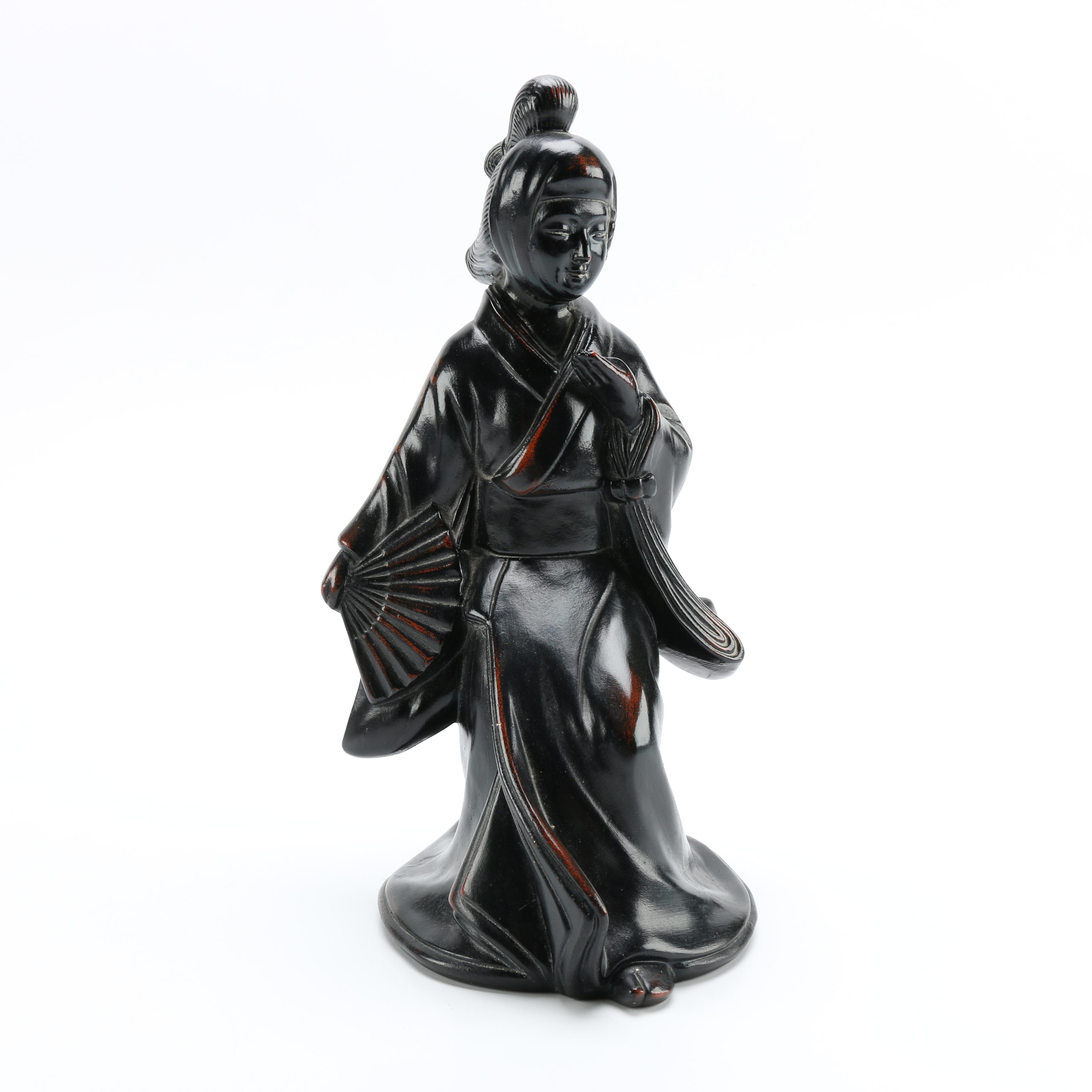 Fitz & Floyd Ceramic Vernissage Geisha