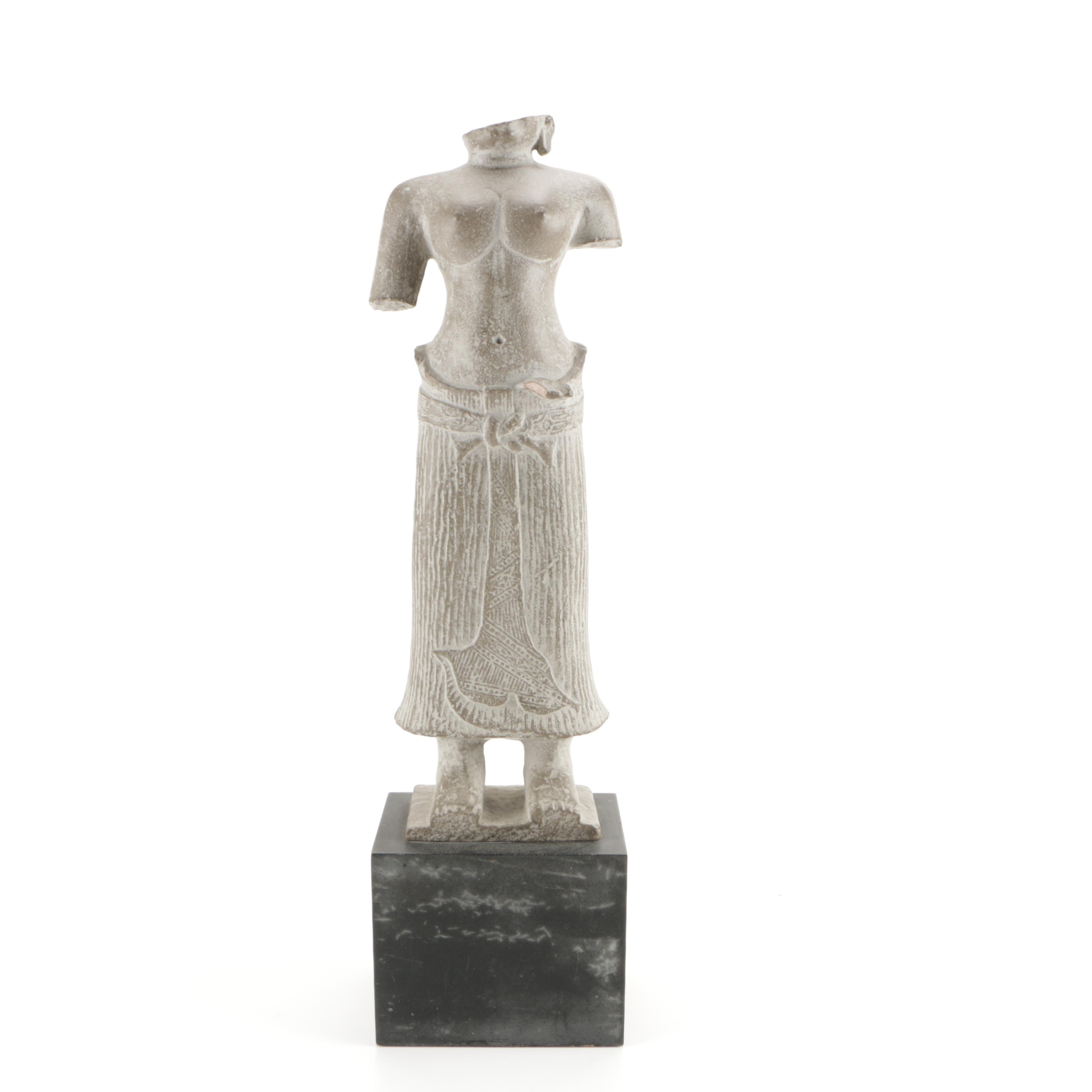 Stone Statue of a Woman