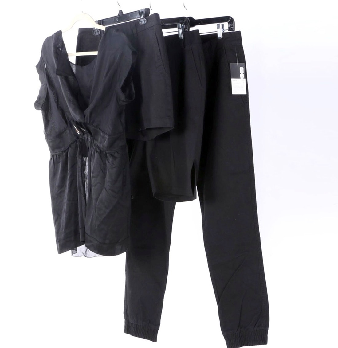 Collection of Women's Black Clothing