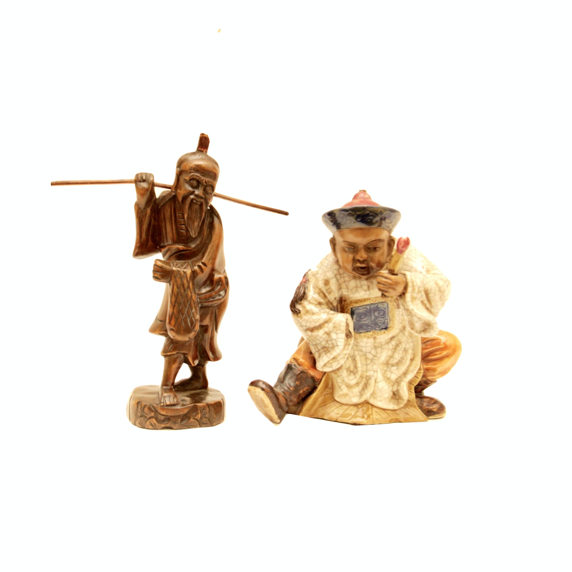 Selection of Asian Inspired Figurines