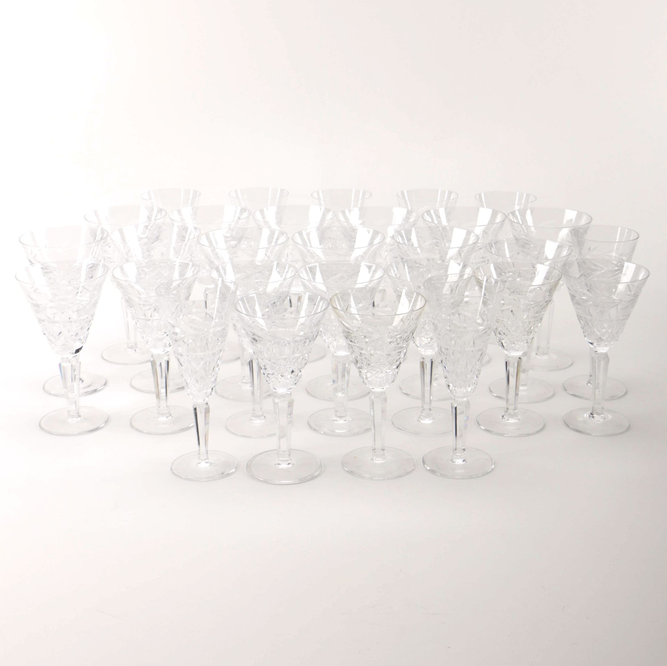 Set of Waterford Crystal Stemware