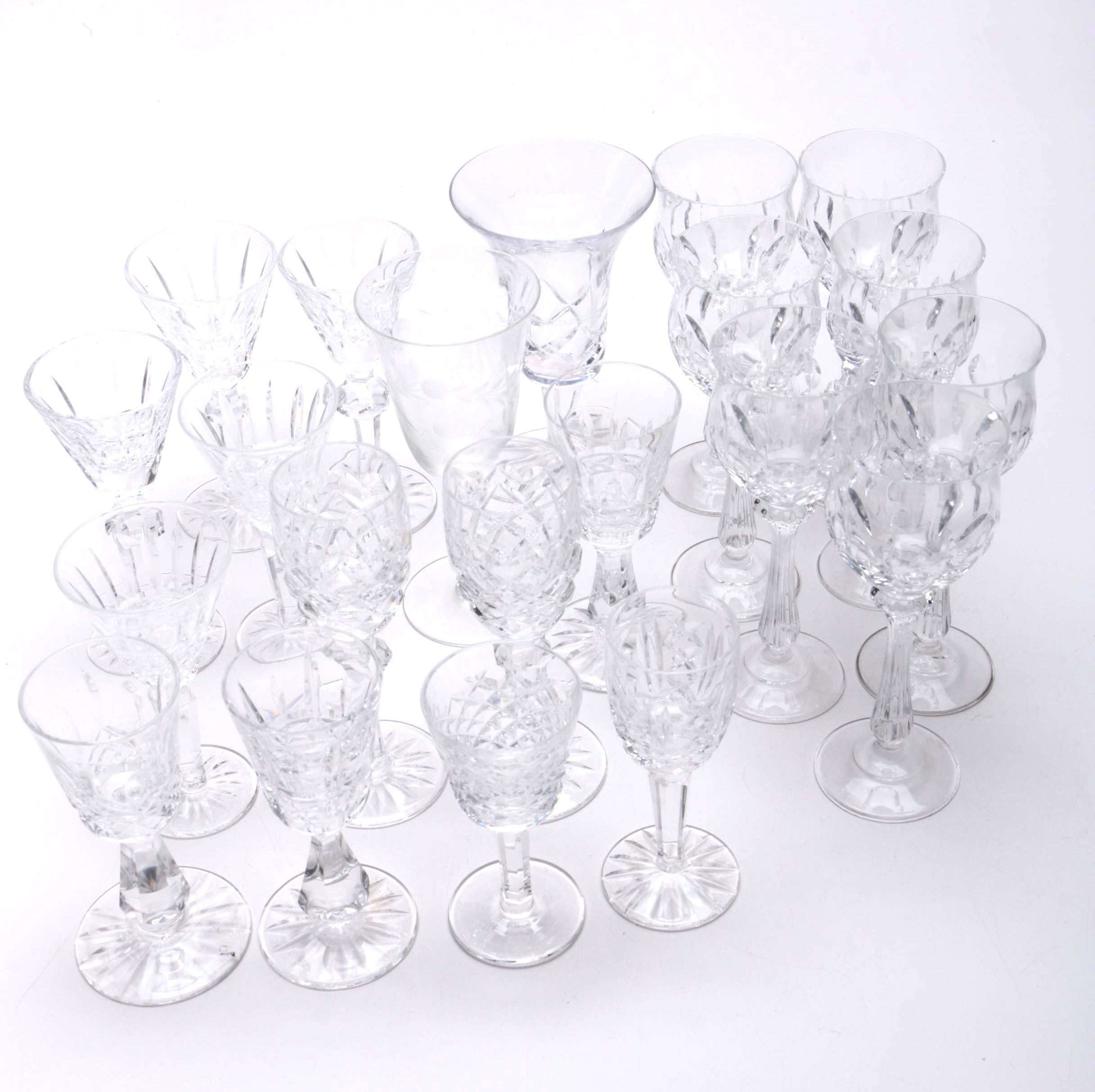 Collection of Sherry Glasses