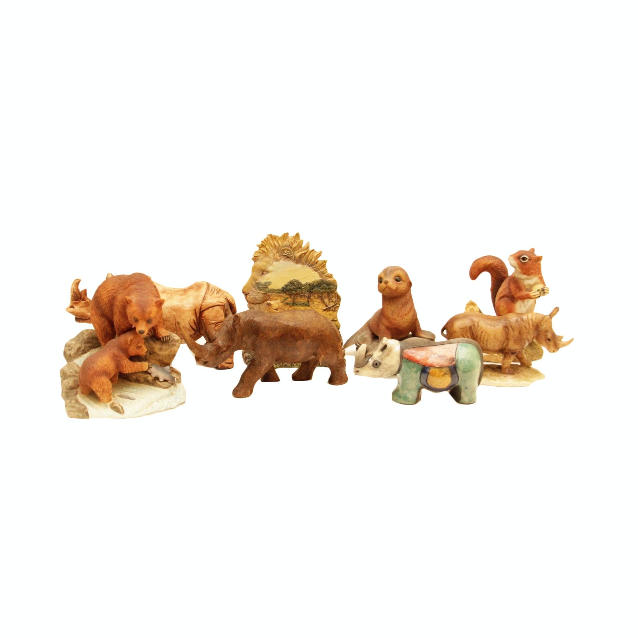Collection of Ceramic Animals