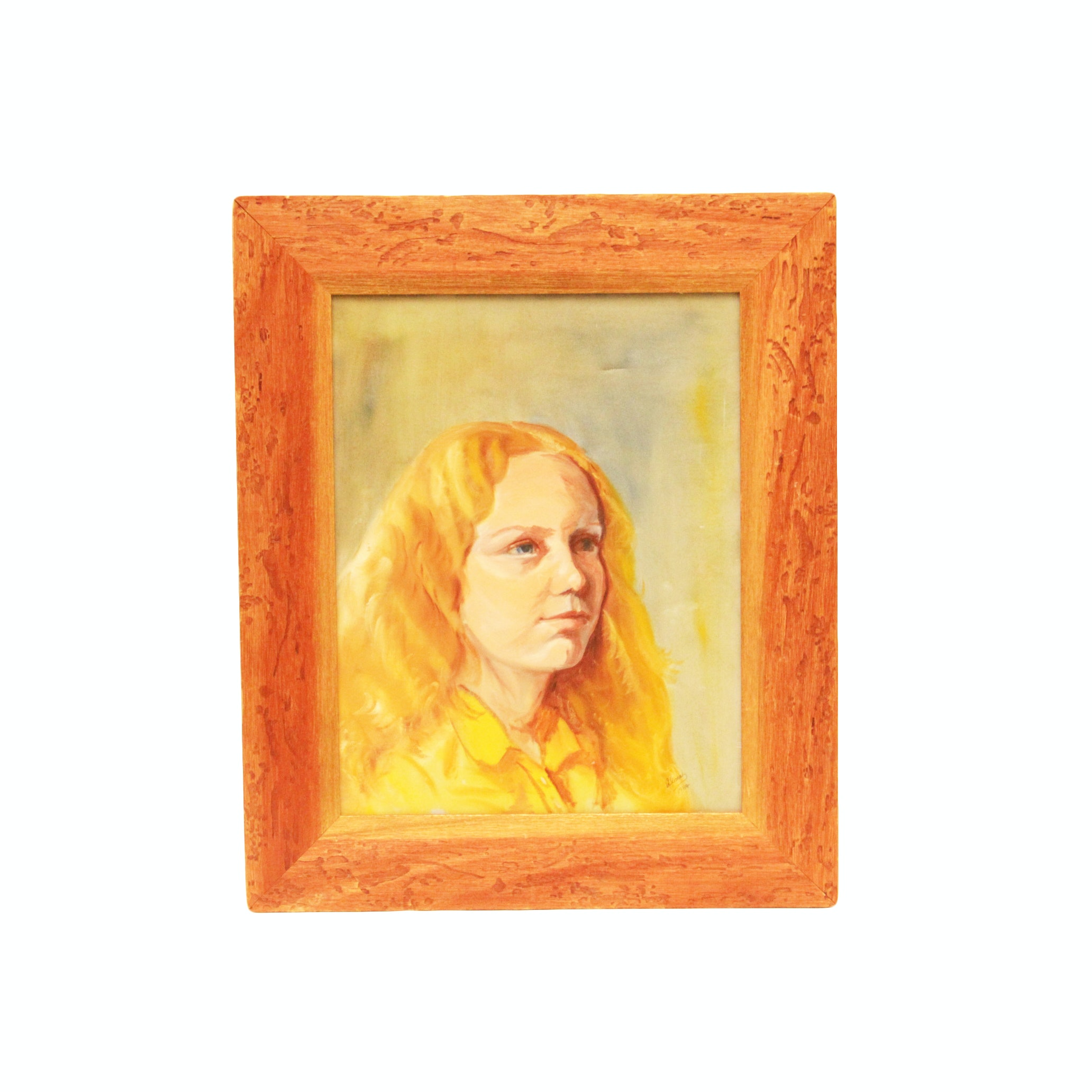 Alima Oil Portrait Painting