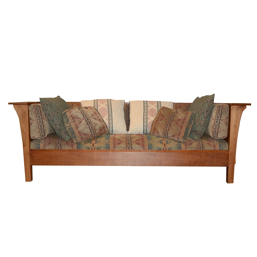 Stickley Mission-Style Prairie Settee
