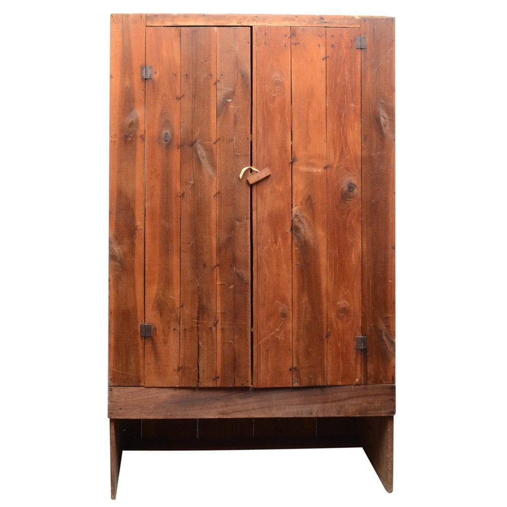 Primitive Wardrobe Cabinet