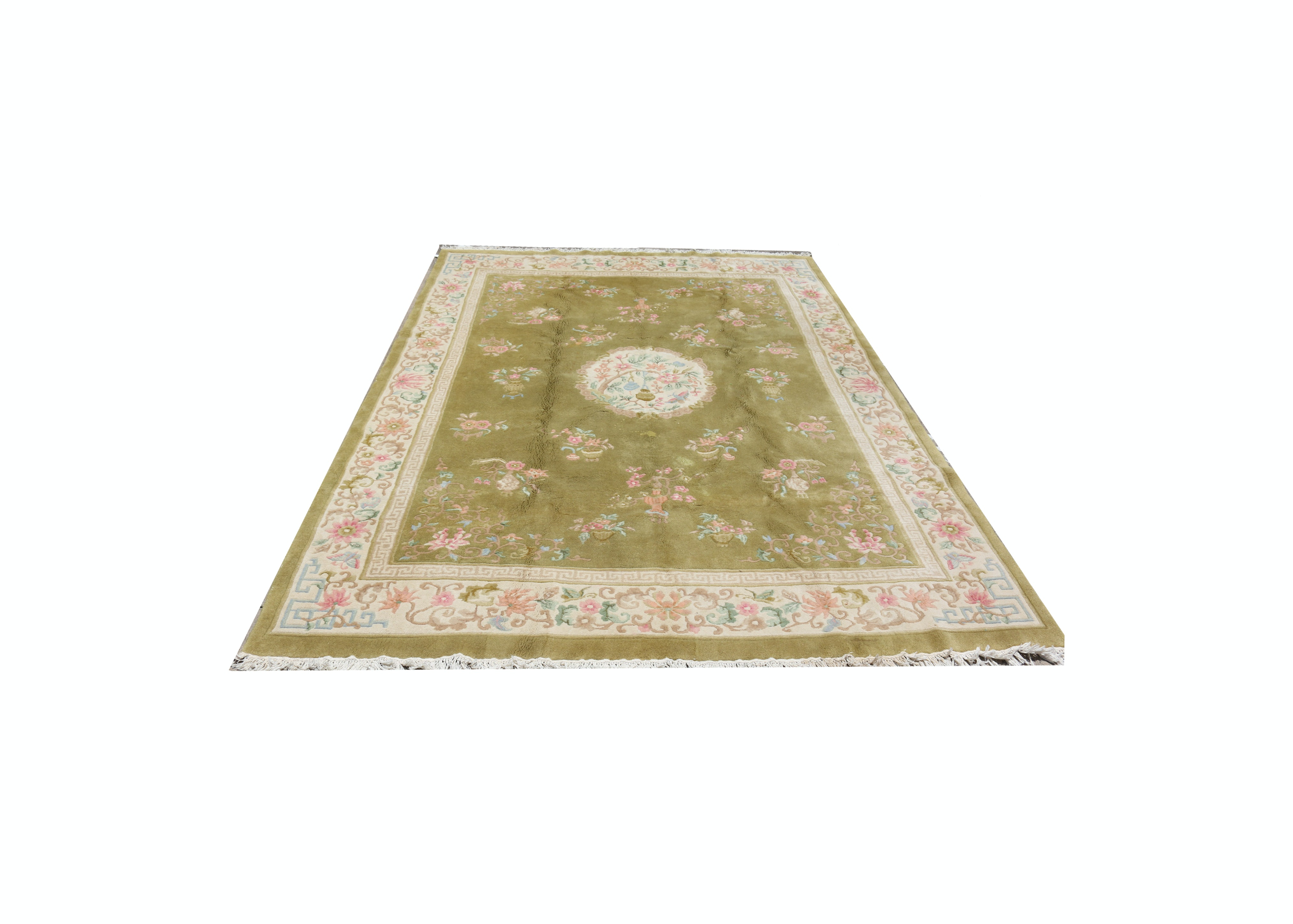 Hand Woven Indo Chinese Rug