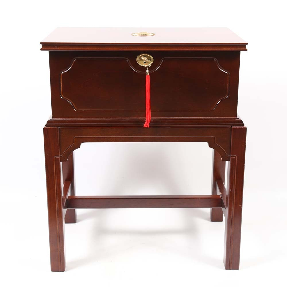 Wood and Brass Chest
