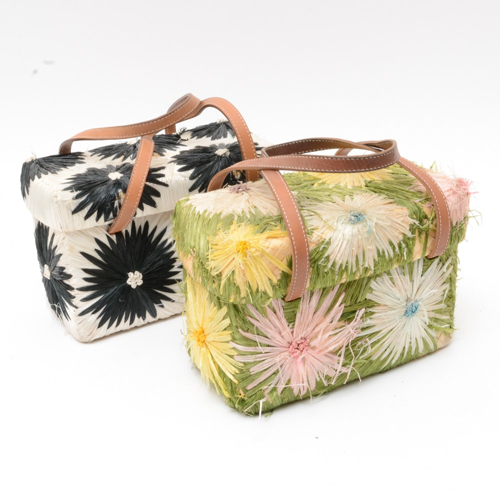 Kate Spade Straw Handbags