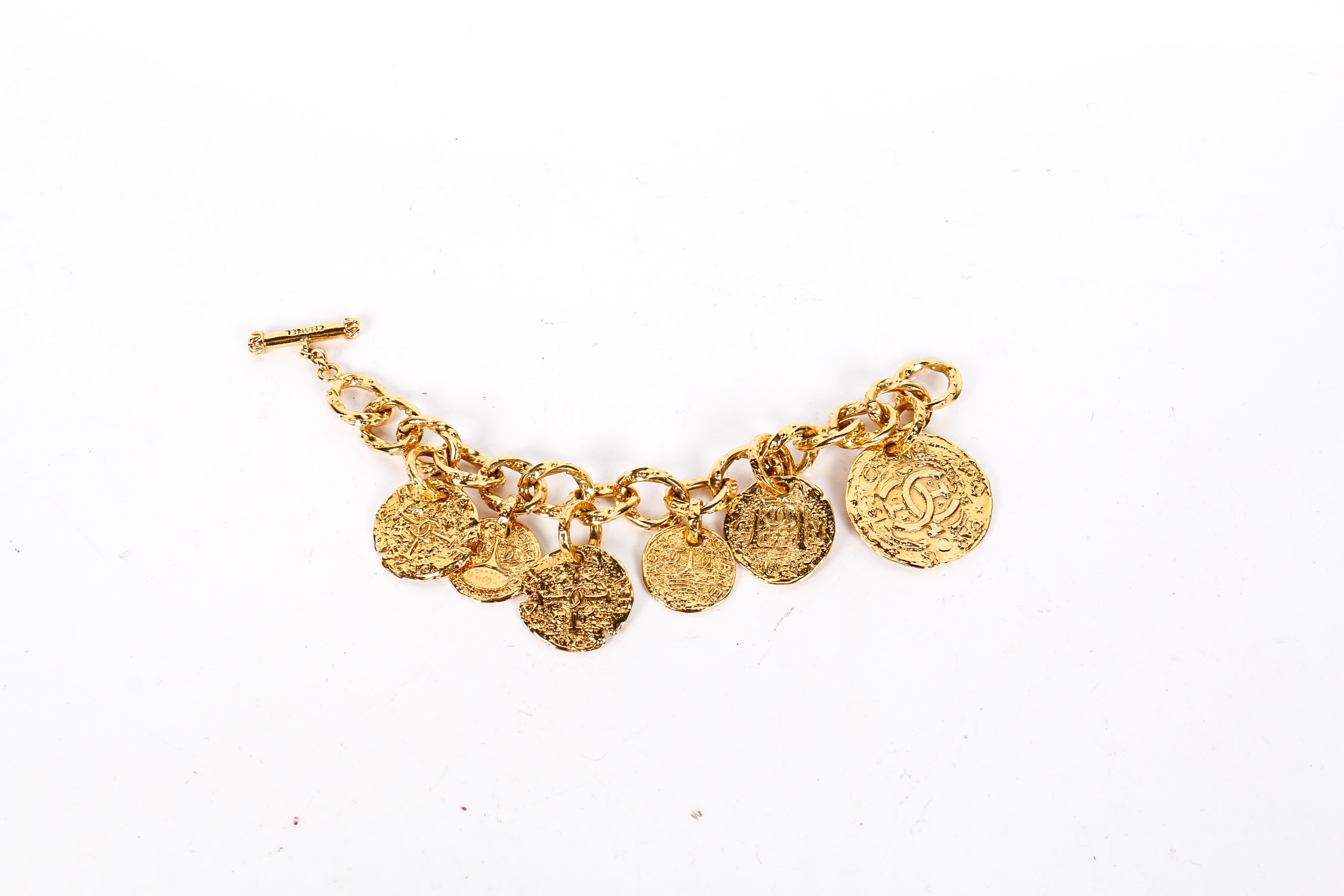 Gold Toned Chanel Bracelet