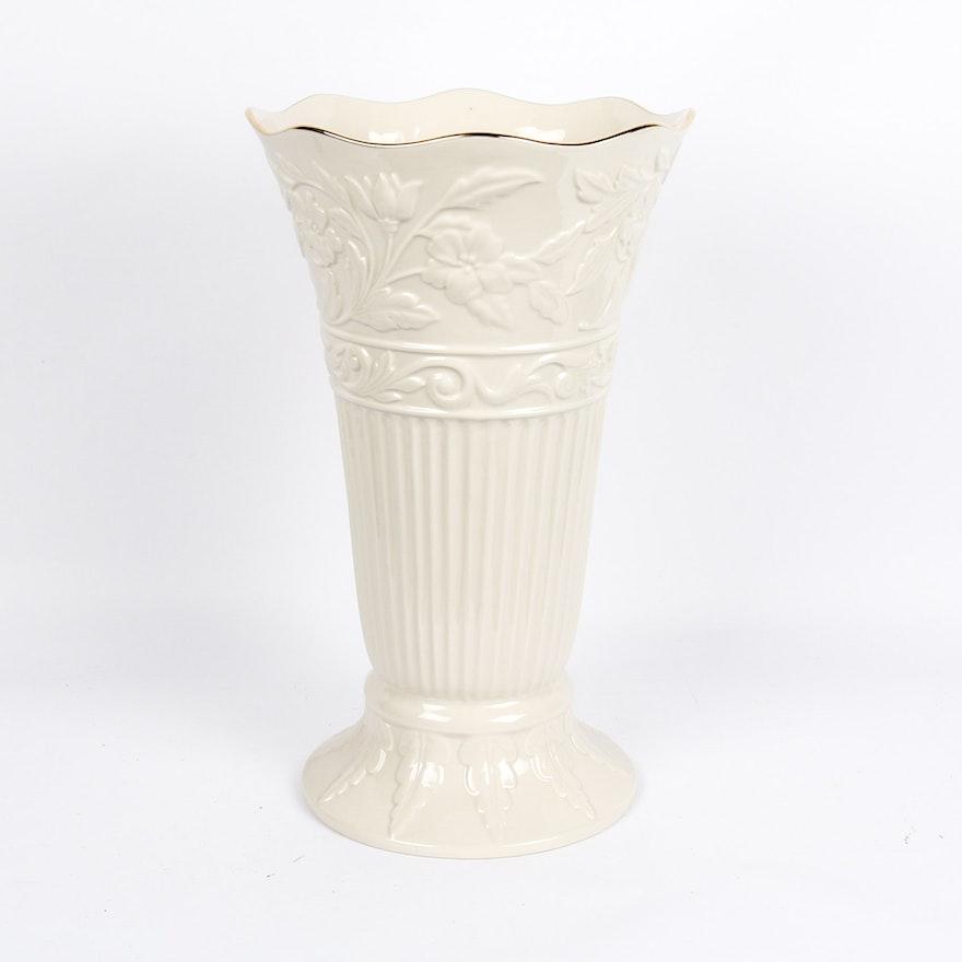 Oversize Lenox Porcelain Vase Ebth