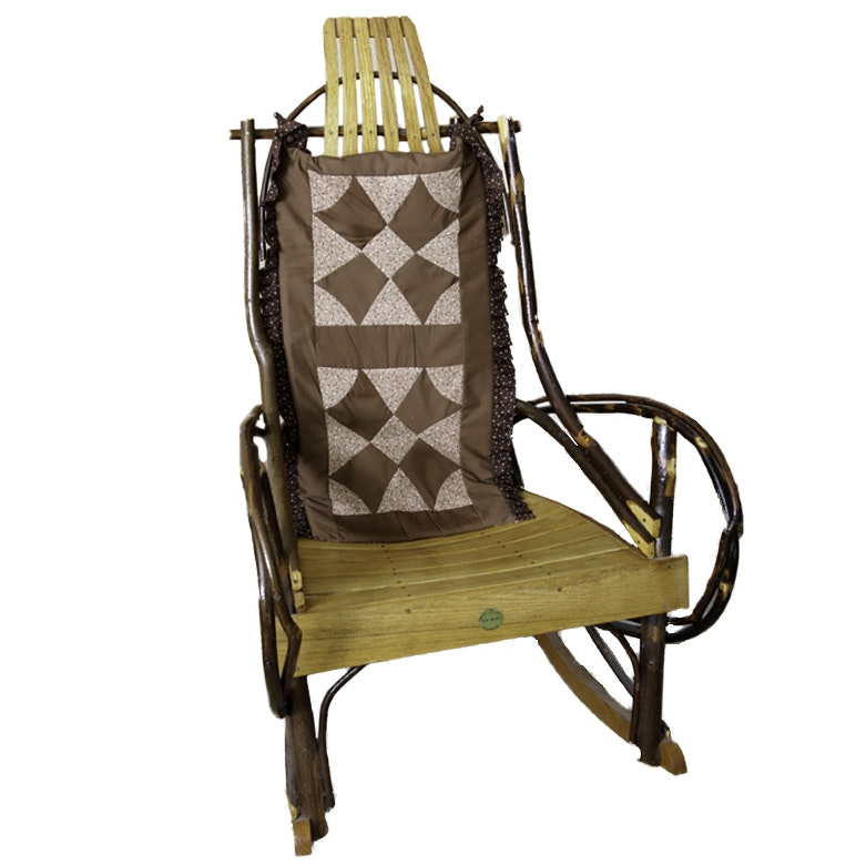 Eli A. Miller Amish Bentwood Rocking Chair