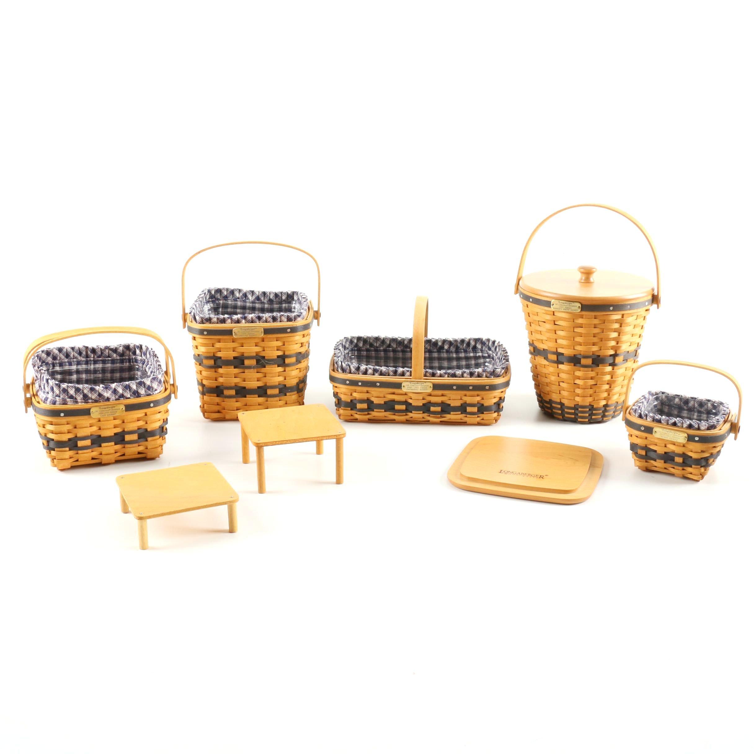 Collector's Club Miniature Longaberger Baskets