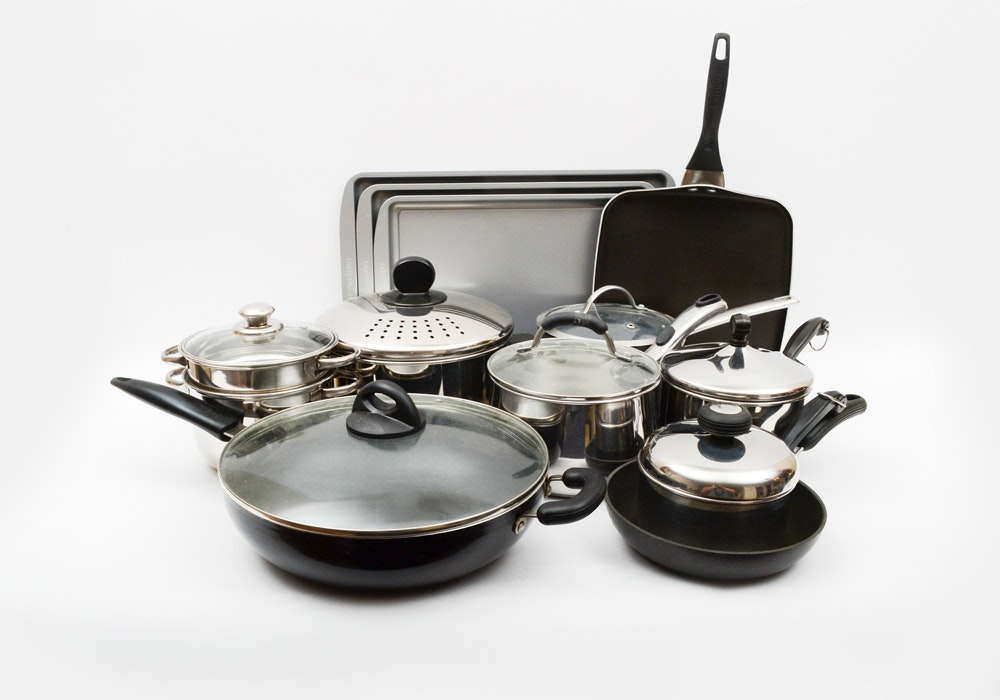Cookware and Bakeware Including Faberware