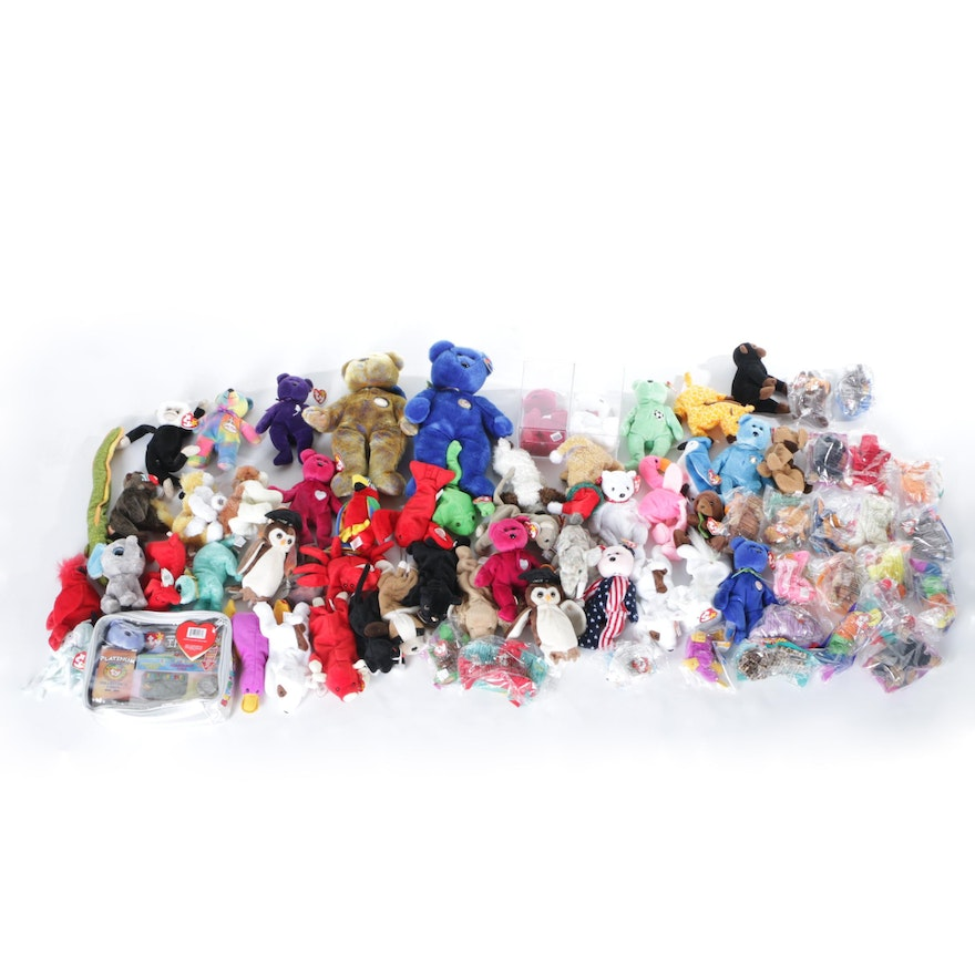 Ty Beanie Babies Collection   EBTH dfe18ff78569
