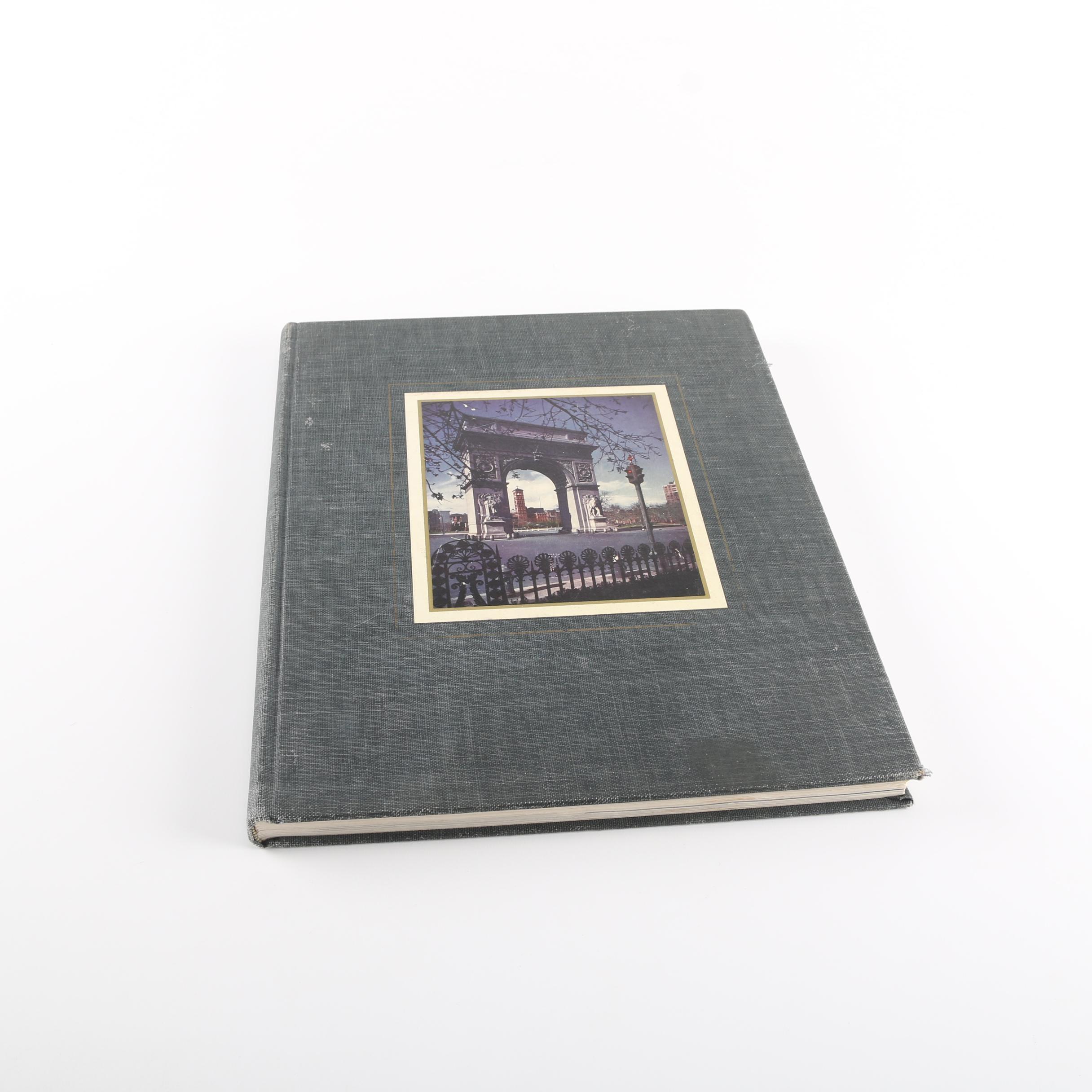 "New York University 1951 ""Commerce Violet"" Yearbook"