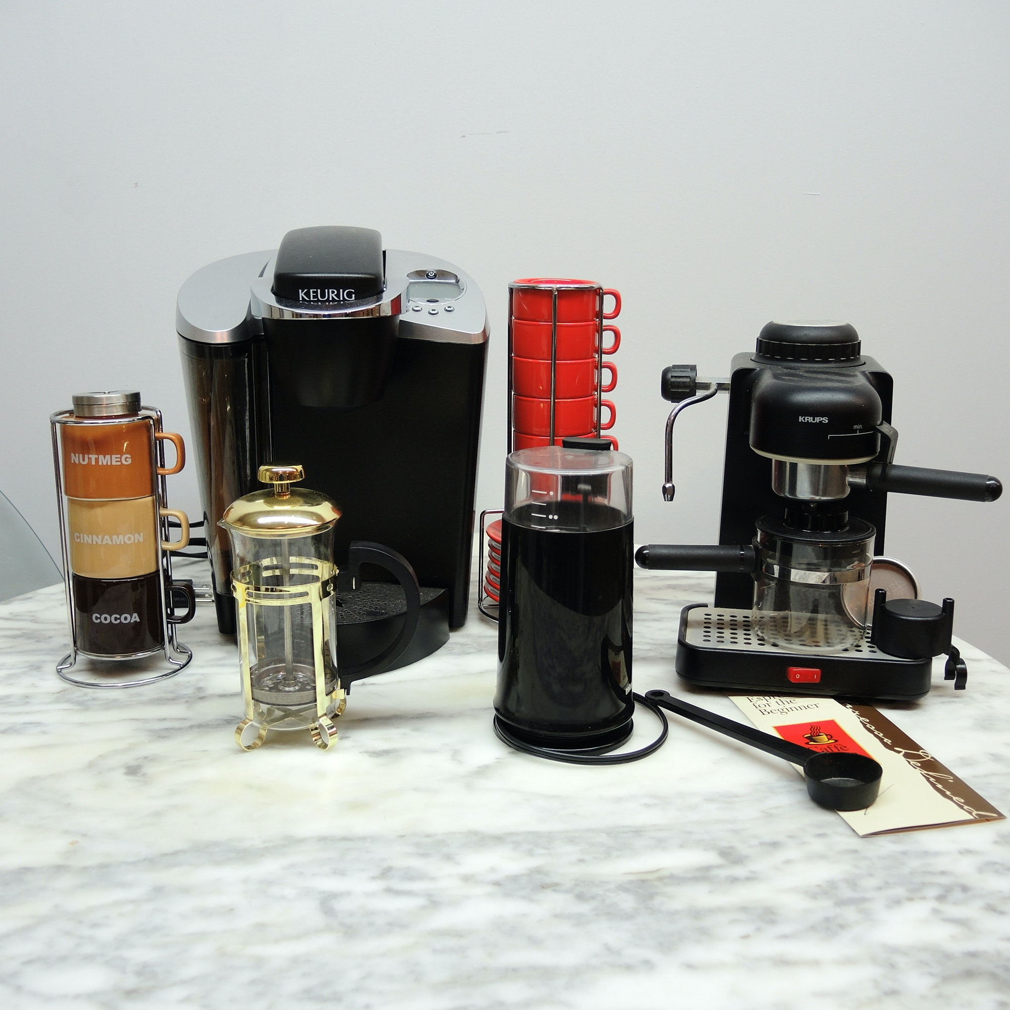 Keurig Coffee and Espresso Machine and More