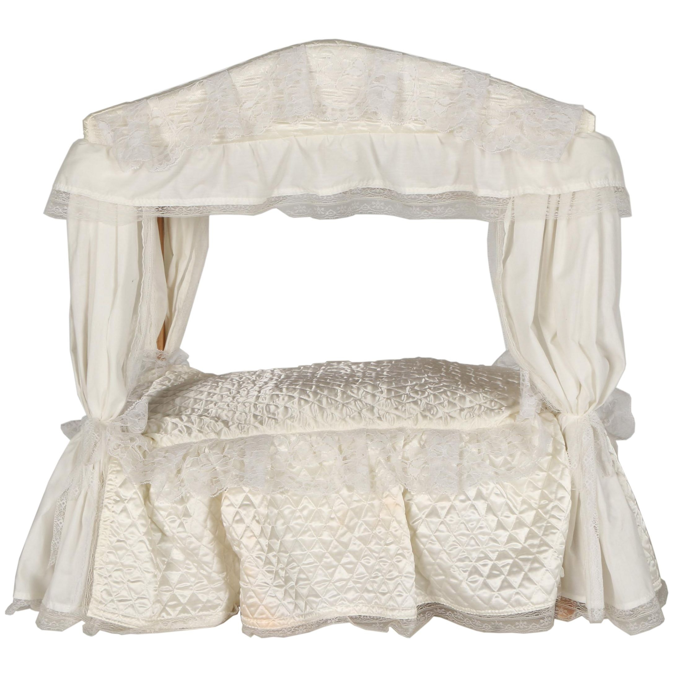 Canopy Doll Bed