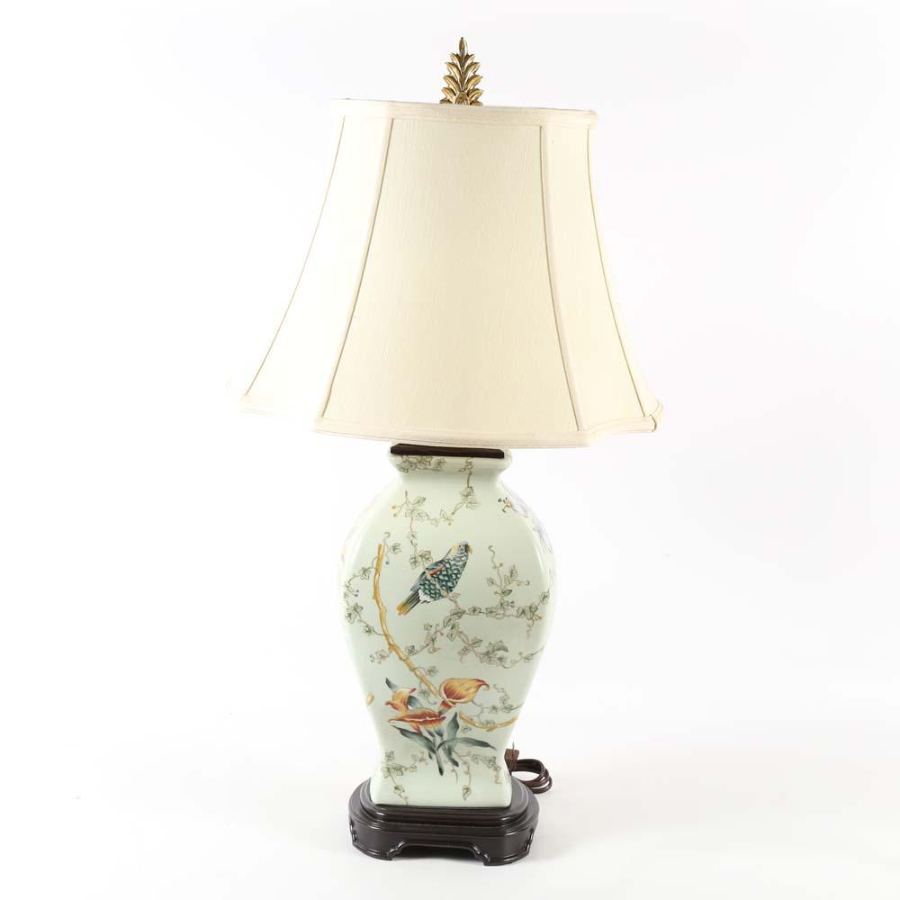 Bradburn Gallery Asian Inspired Porcelain Lamp : EBTH