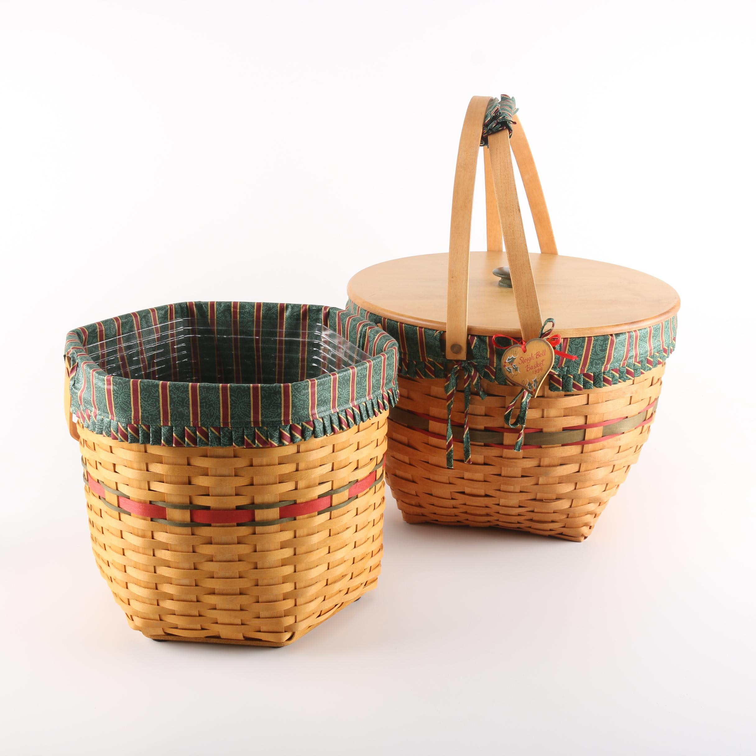 Longaberger Christmas Baskets