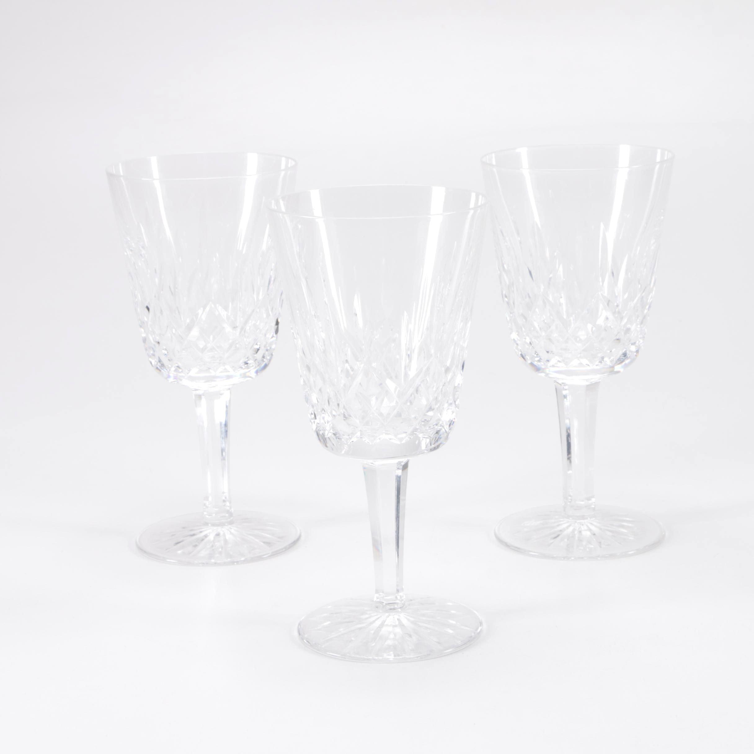 Waterford Crystal Stemmed Goblets