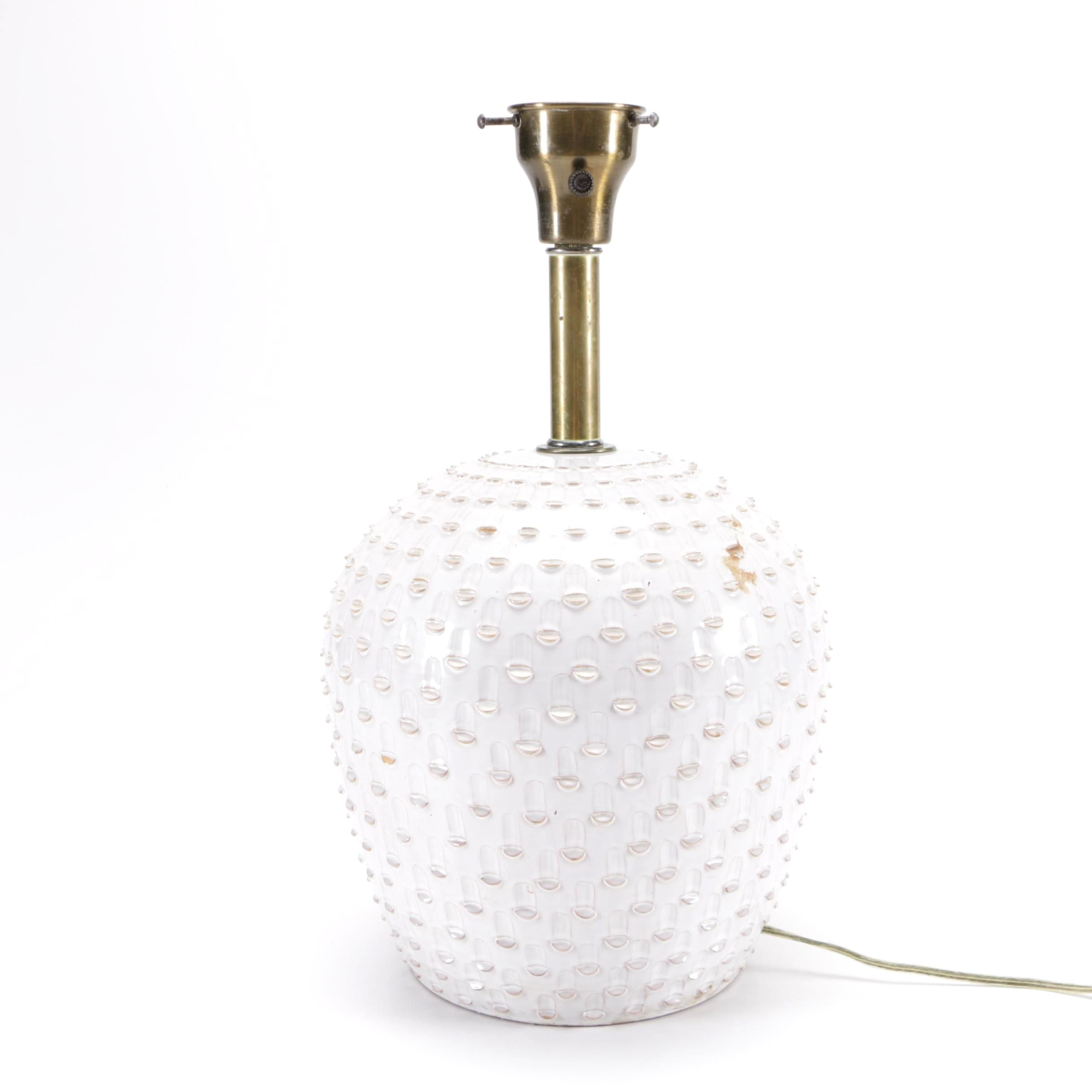 Ceramic Urn Style Table Lamp