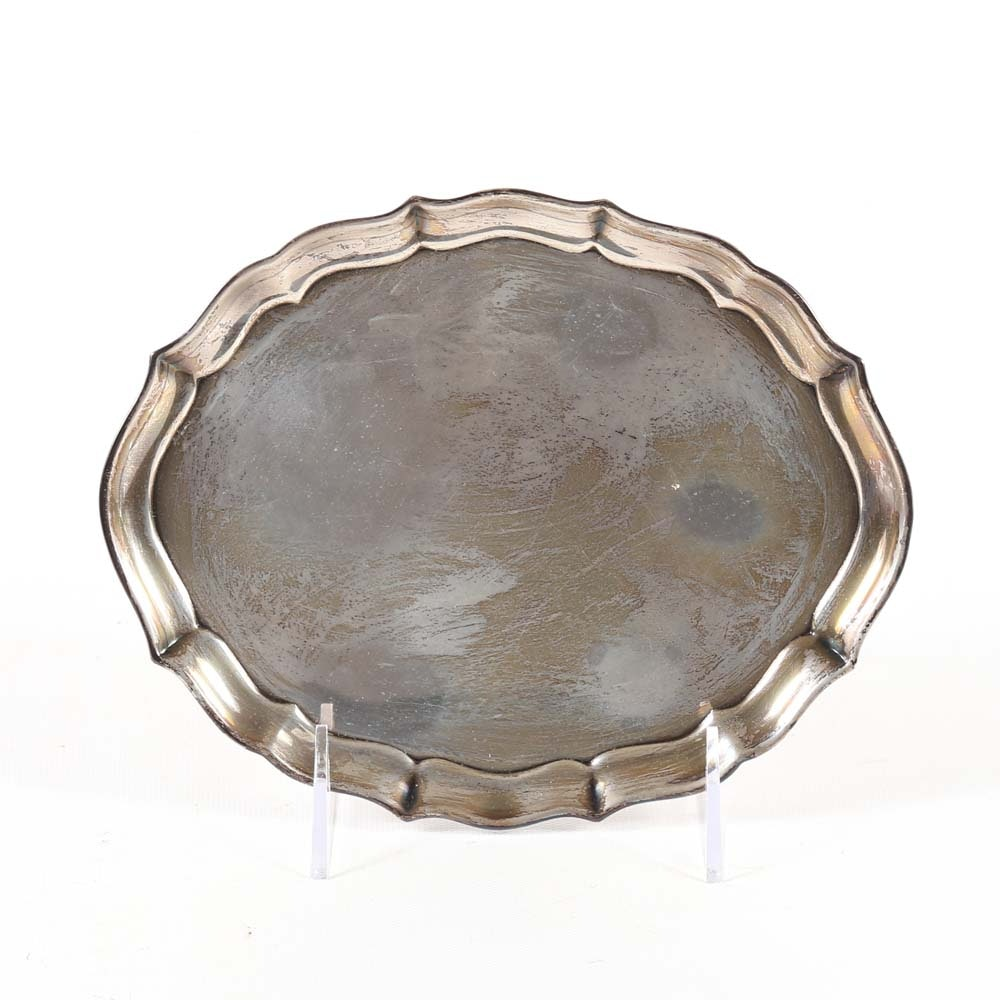 """Gorham Sterling Silver """"Chippendale"""" Dish"""