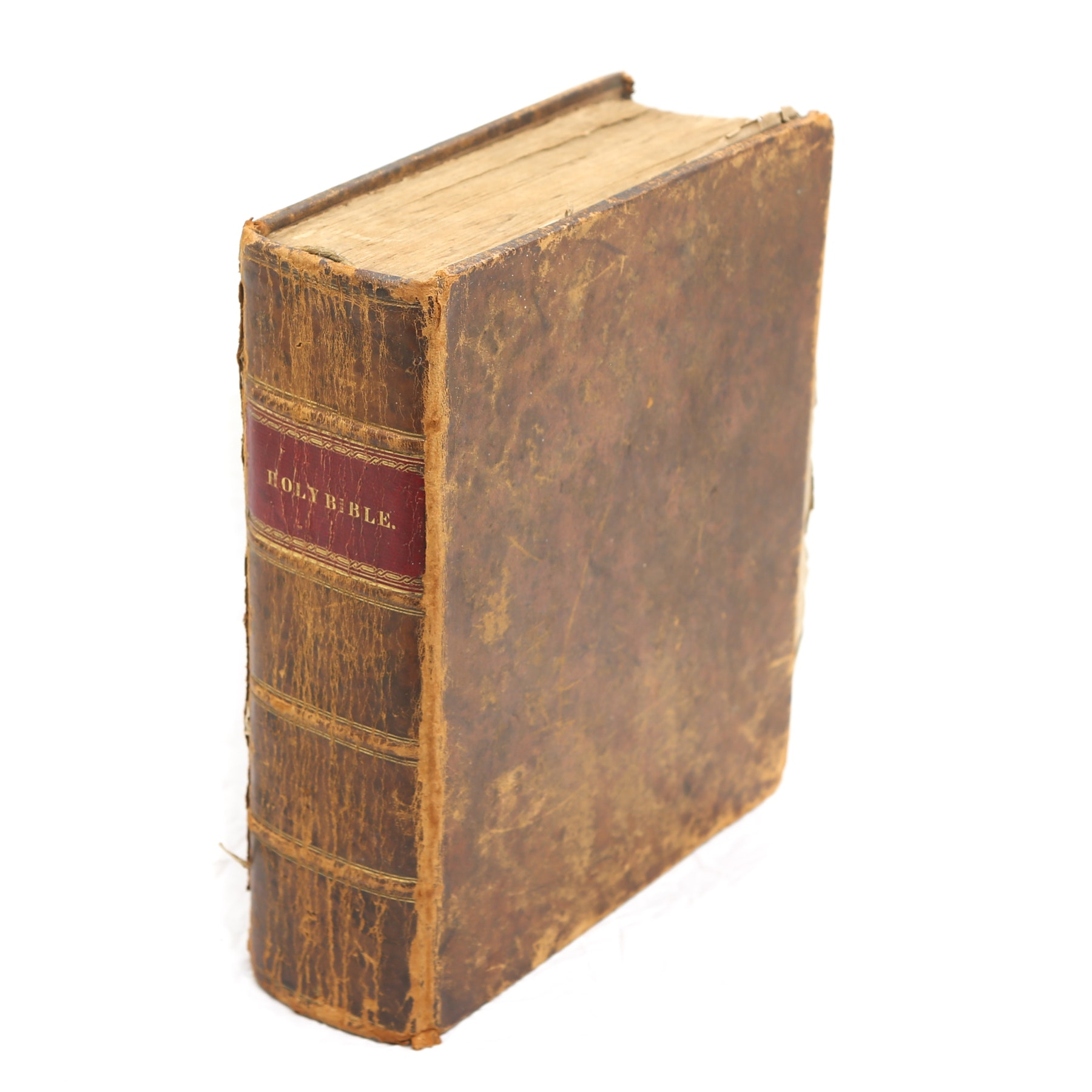 1832 Leatherbound Holy Bible