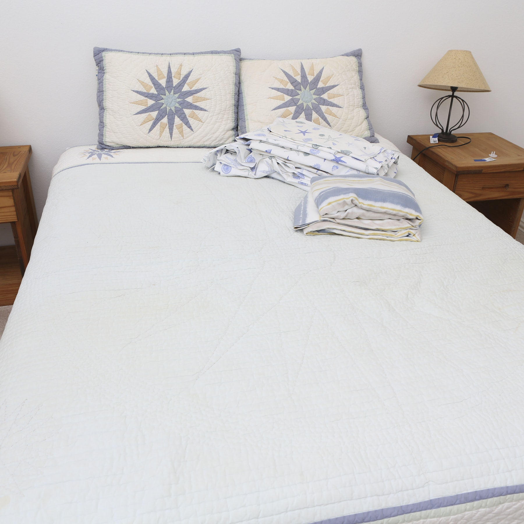 Nautical Quilt, Pillow Covers and Sheet Sets