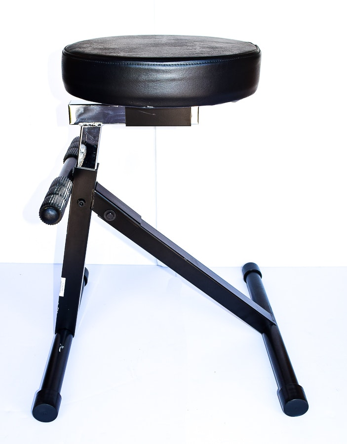 On Stage Brand Folding Musician S Stool Ebth