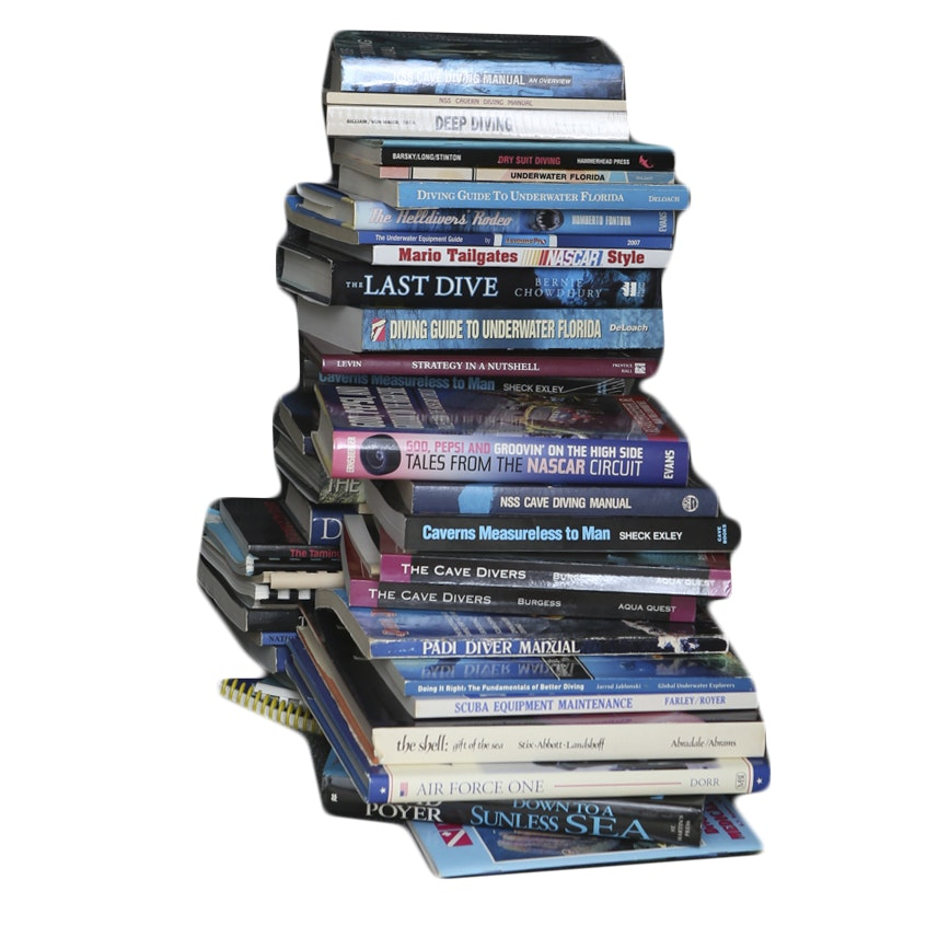 Scuba Diving Book Collection