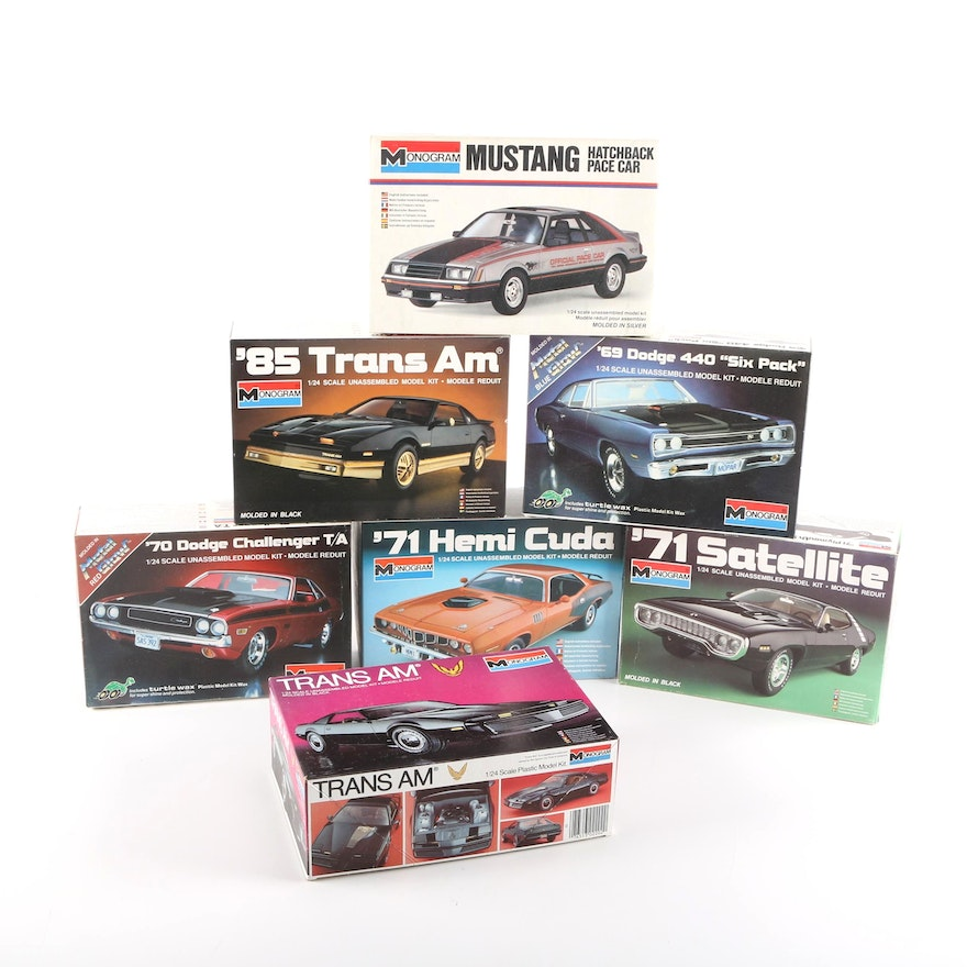 Muscle Car Model Kits By Monogram Ebth