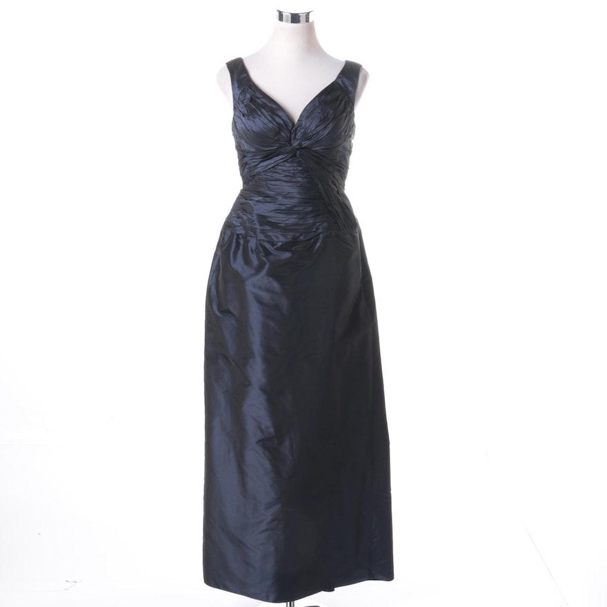 Rickie Freeman Teri Jon Ruched Evening Gown : EBTH