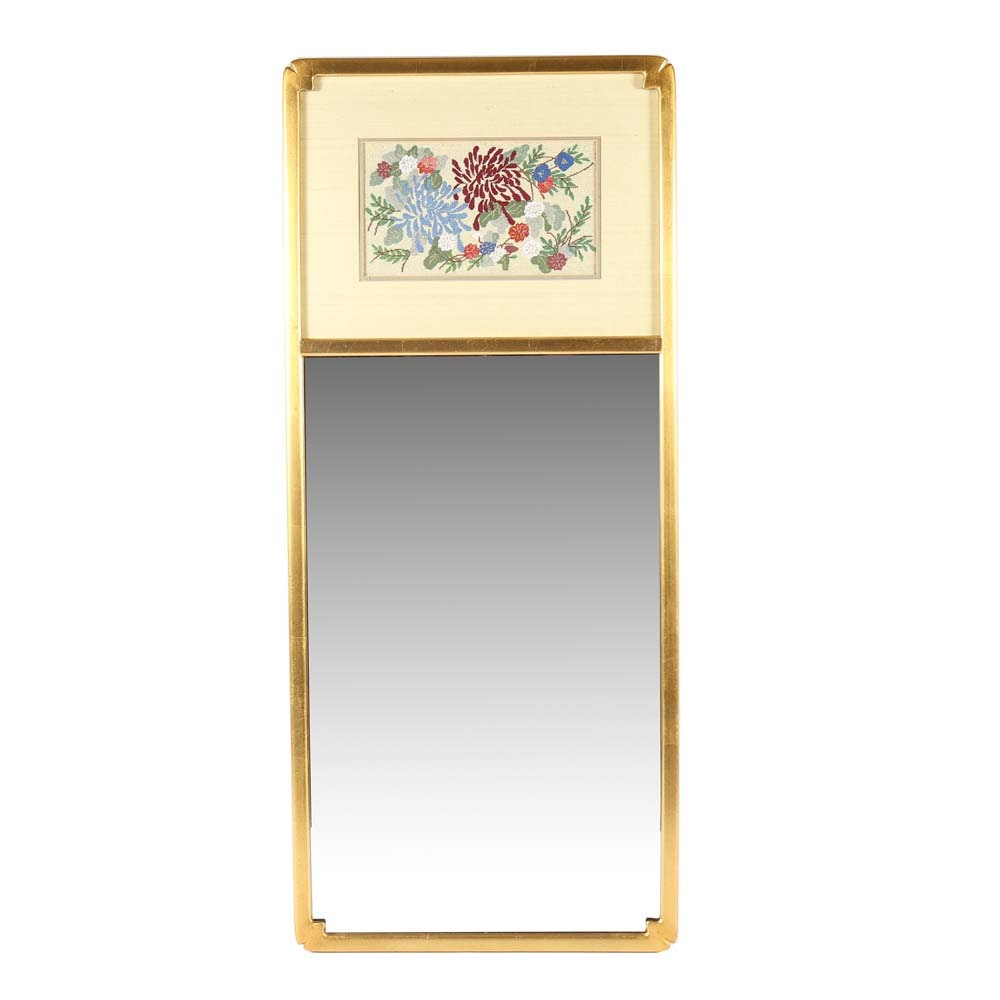Snyder Gallery Needlepoint Wall Mirror