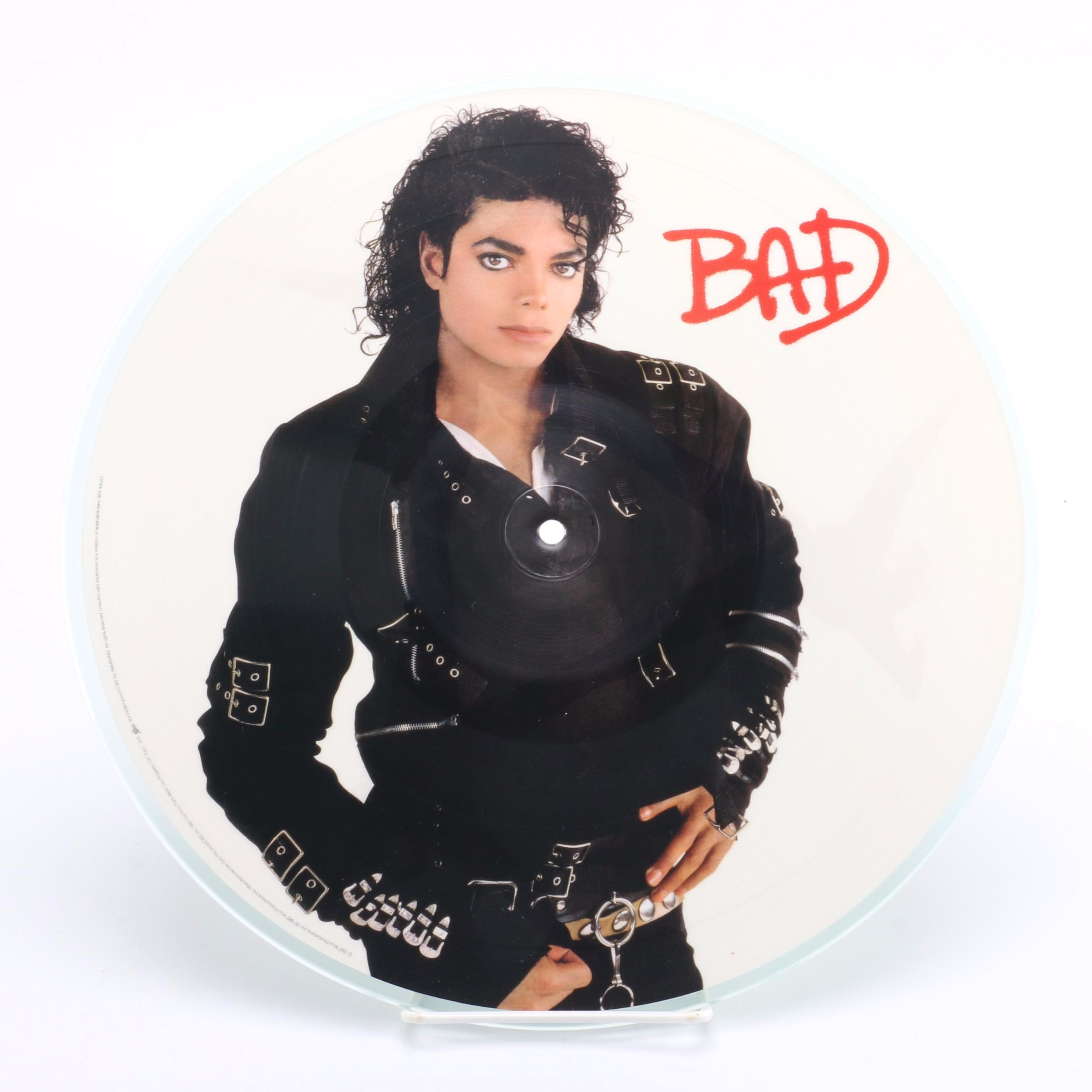 "Michael Jackson 1987 ""Bad"" Picture Disc"