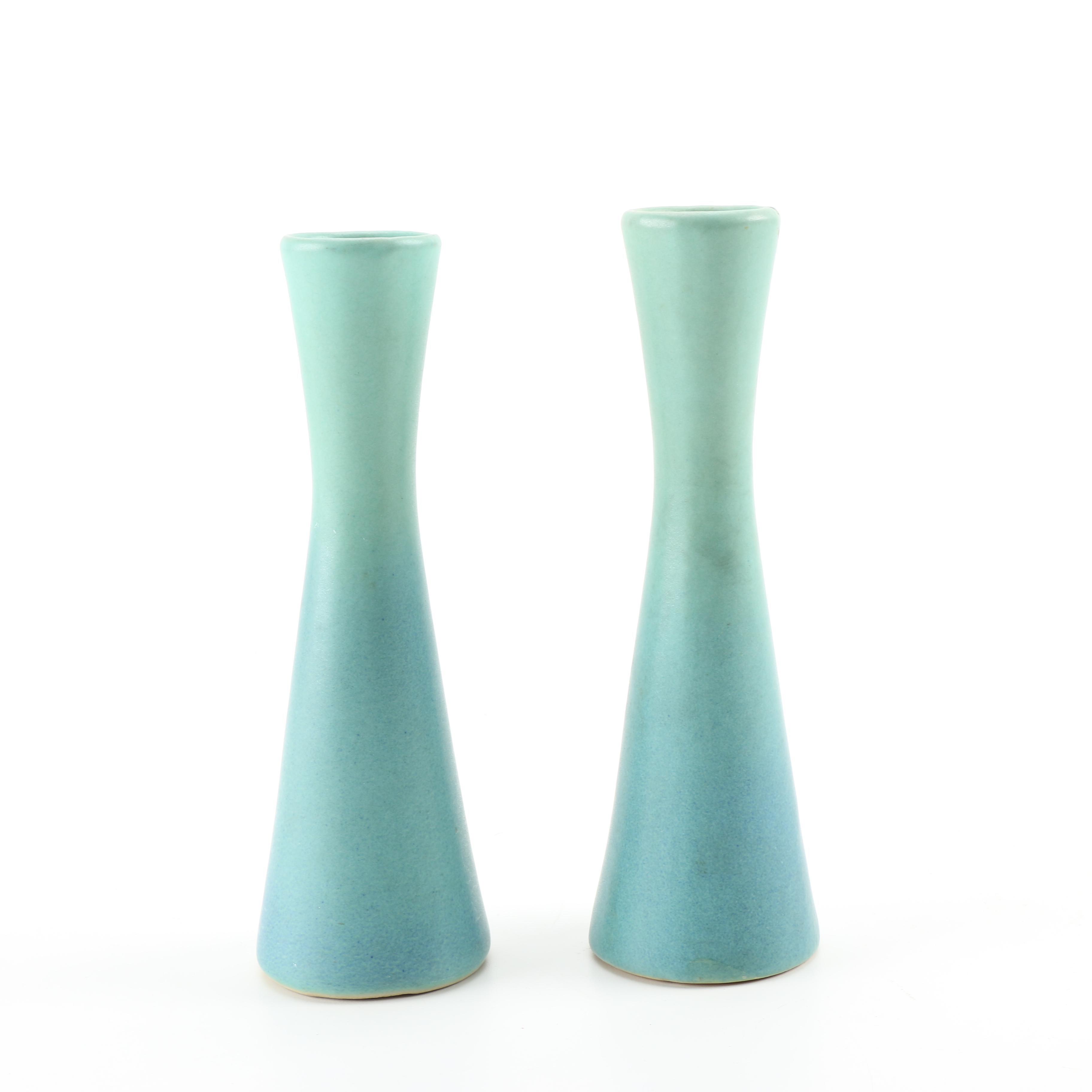 Pair of Van Briggle Pottery Vases
